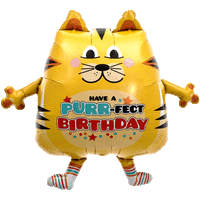 Have a Purrfect Birthday Balloon in a Box