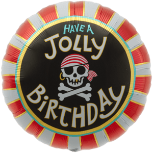 Pirate Jolly Birthday Balloon in a Box