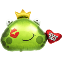 Giant Frog - Kiss Me Balloon in a Box