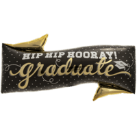Hip Hip Hooray Grad Balloon in a Box