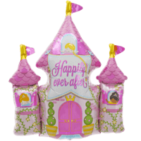 Princess Castle Happily Ever After Balloon in a Box