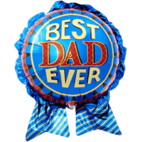 Best Dad Ever Balloon in a Box