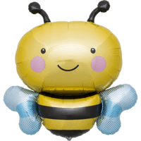 "36"" Bumble Bee Smile Balloon in a Box"
