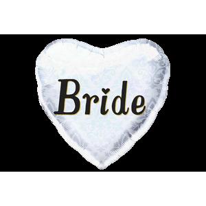 Bride Elegant Heart Balloon in a Box