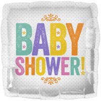 Sweet Baby Shower Block Letters