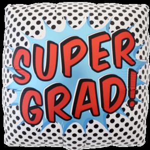 Retro Super Grad Balloon in a Box