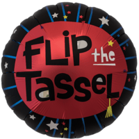 Flip The Tassel Graduate Balloon in a Box