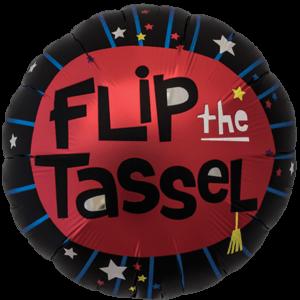 Flip The Tassel Graduate Balloon in a Box