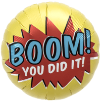 You Did It Boom Explosion