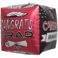 Grad Doodles Cube Balloon in a Box