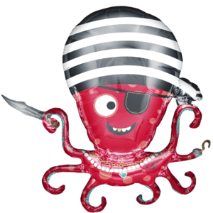 Seven Seas Pirate Octopus