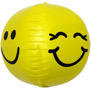 Smiley & Cheeky  Face Sphere