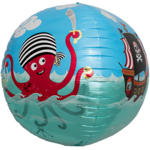 Pirate Octopus Fun Sphere