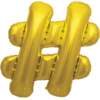 """34"""" # Gold Foil Balloon overview"""
