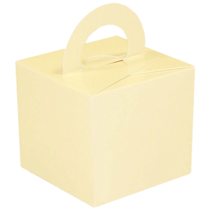 Ivory Cardboard Box Weight Product Display