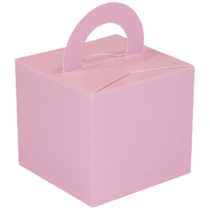 Pink Cardboard Box Weight Product Display