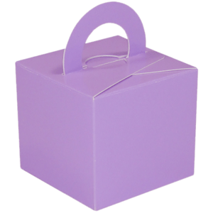 Lavender Cardboard Box Weight Product Display
