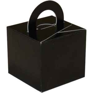 Black Cardboard Box Weight Product Display