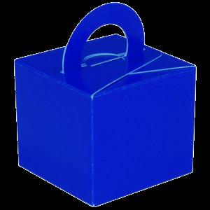 Blue Cardboard Box Weight Product Display