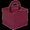 Burgundy Cardboard Box Weight