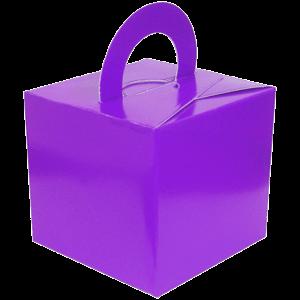 Purple Cardboard Box Weight Product Display