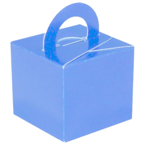 Light Blue Cardboard Box Weight Product Display