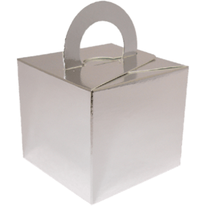 Silver Cardboard Box Weight Product Display