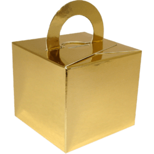 Gold Cardboard Box Weight Product Display