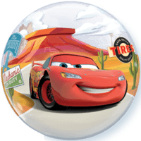 "22"" Disney McQueen & Mater Bubble Balloon Balloon in a Box"