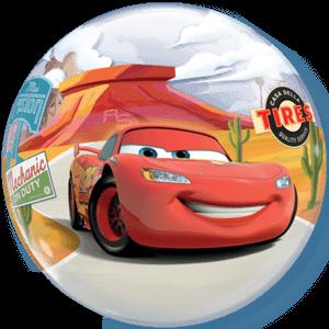 """22"""" Disney McQueen & Mater Bubble Balloon Balloon in a Box"""