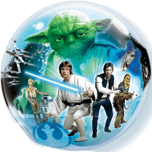 "22"" Star Wars Characters Balloon in a Box"
