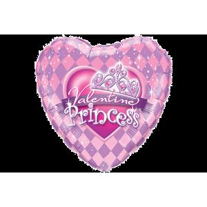 Fairytale Valentine Princess Tiara Balloon in a Box