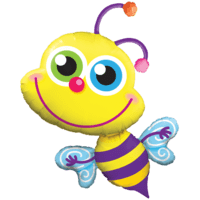 "40"" Smiling Bee Balloon in a Box"
