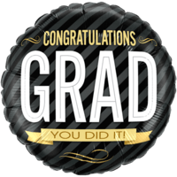 Congratulations Grad  Balloon in a Box