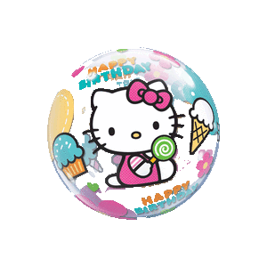 Hello Kitty Happy Birthday Treats Bubble