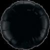 """18"""" Onyx Black foil Round Balloon"""
