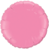 """18"""" Round Rose Foil Balloon overview"""