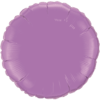 "18"" Spring Lilac foil Round Balloon"