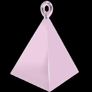 Pearl Pink Pyramid Balloon Weight Product Display