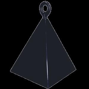 Black Pyramid Balloon Weight Product Display