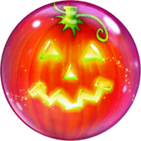 Jack O'Lantern Bubble Balloon in a Box