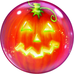 Spooky Jack The Pumpkin Bubble Balloon in a Box