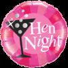 "18"" Hen Night Cocktail Balloon overview"