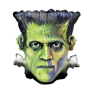 Frankenstein Head Balloon in a Box