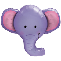 Big Purple Elephant Balloon in a Box