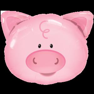 Piggy Friend Balloon in a Box