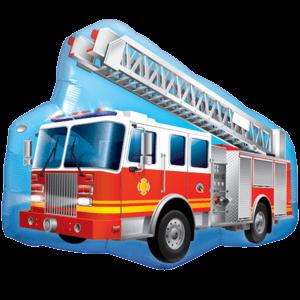 Mega Red Fire Engine