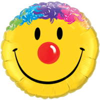 Crazy Hair Smile Face Balloon in a Box