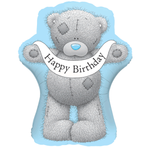 "36"" Birthday Banner Bear Balloon in a Box"