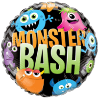 "18"" Monster Bash Little Monsters Balloon in a Box"